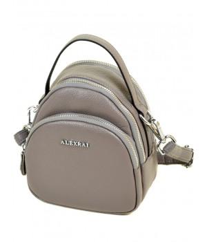 Женская кожаная сумочка-клатч